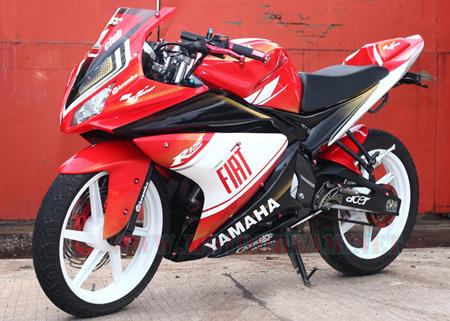 Modif Yamaha Vixion Lighting