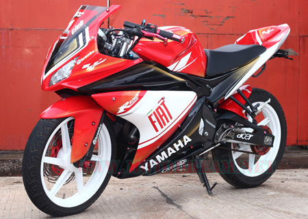 Modif Yamaha Vixion Trail