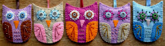 Felt Owls