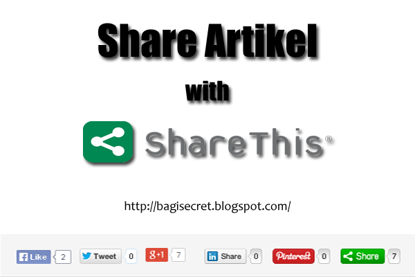 Cara Membuat Tombol Share Artikel Valid HTML5
