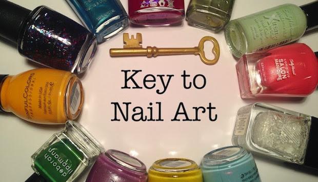 key nail art balloon birthday