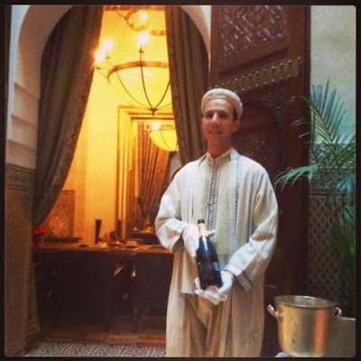 READ ABOUT THE BEST BUTLER IN MARRAKECH. Click on the photo.