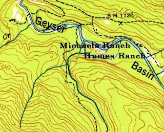 USGS Map elwha