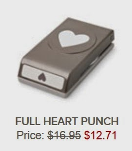Stampin'UP!'s Full Heart Punch