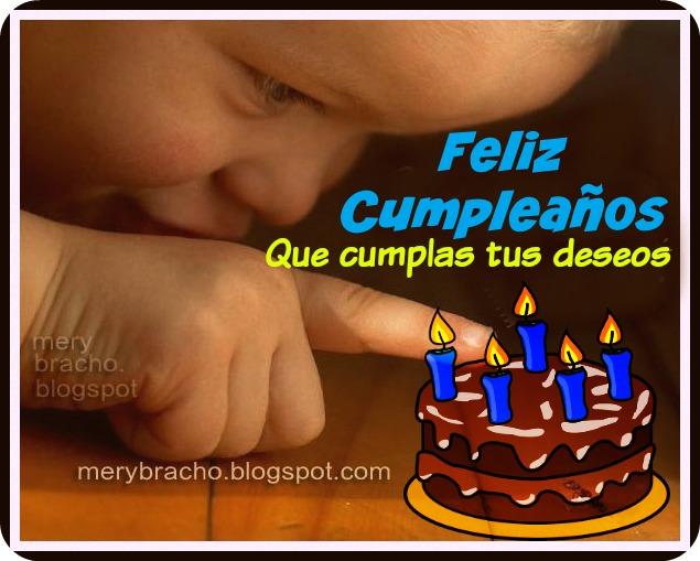 Linda tarjeta de cumpleaños con mensaje cristiano, frases de cumpleaños con bonita imagen y pensamientos positivos de buenos deseos.