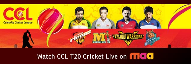 YuppTV Blog: Watch Celebrity Cricket League Live On Maa TV