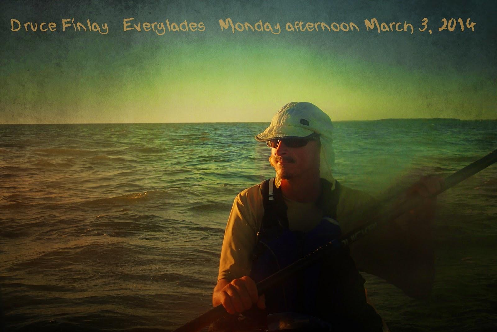 Druce Finlay Monday Afternoon - Everglades Challenge 2014