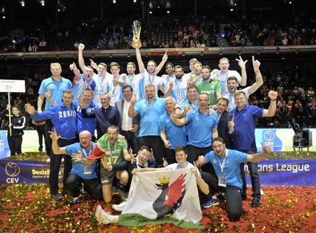 VOLEIBOL - Liga de Campeones CEV masculino 2015. Tercer título para los rusos de Kazan