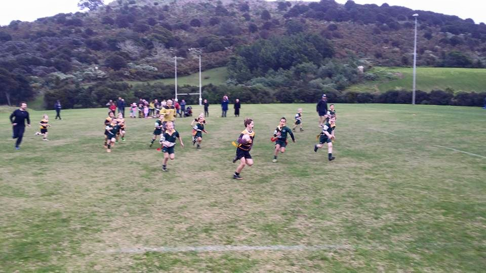 Scrag goes for a try - rippa rugby