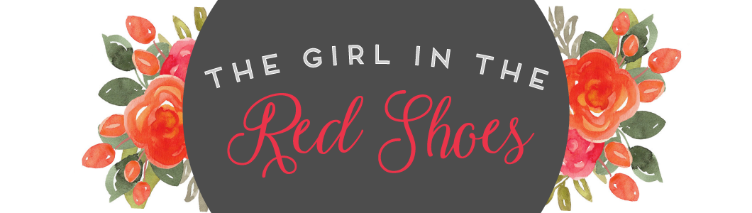 the girl in the red shoes