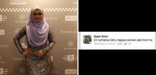 Siti Nurhaliza Tahu Kenapa Zamani Jadi Macam Tu Saari Amri