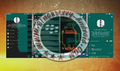 BBM Mod N12 Tema Dark Green Shadow New v2.9.0.51 Apk