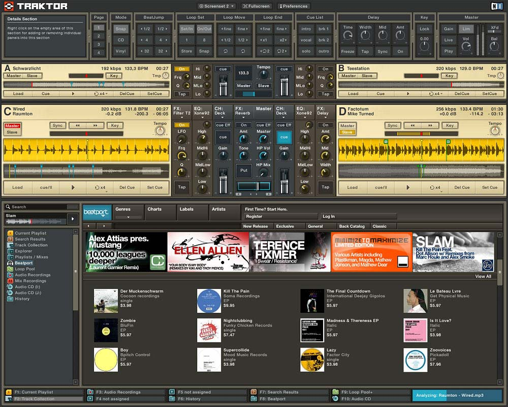 how to add songs to traktor