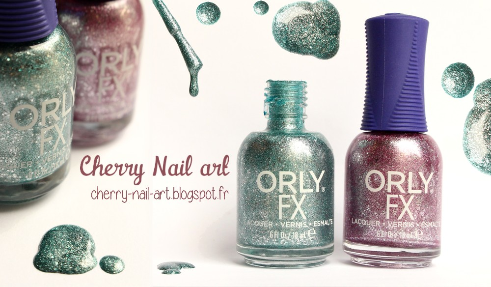 Vernis Orly collection mega pixel fx