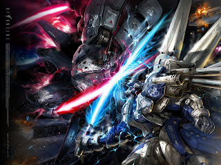 Gundam Mecha Robot Fighting Laser Sword Anime HD Wallpaper Desktop PC Background  2002