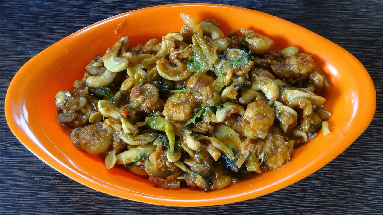 Prawns Raw Cashew Nuts Curry | Recipe Table