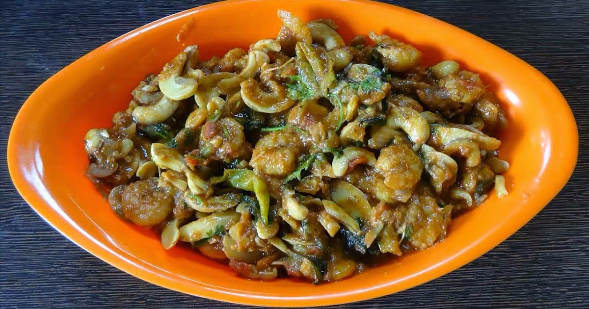 Prawns Raw Cashew Nuts Curry | Recipe Table