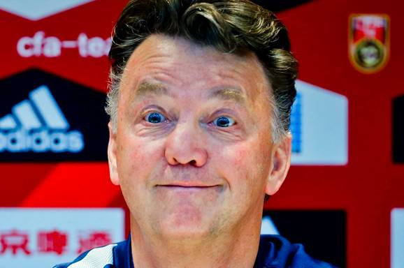 Louis van Gaal is a jammy bastard
