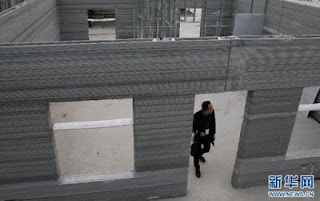 Full houses have been constructed using the three-dimensional printers