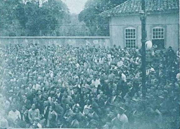 VISITA DR BIAS FORTES EM BARBACENA 1931