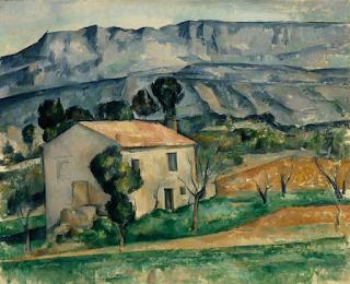 """""""Maison devant la Sainte-Victoire, près de Gardanne"""" Cézanne"""