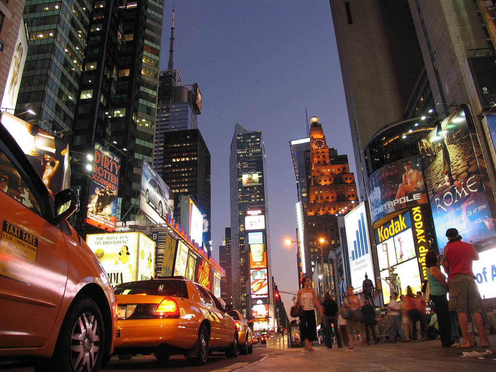 New York  Times Square Night Photos 3  3