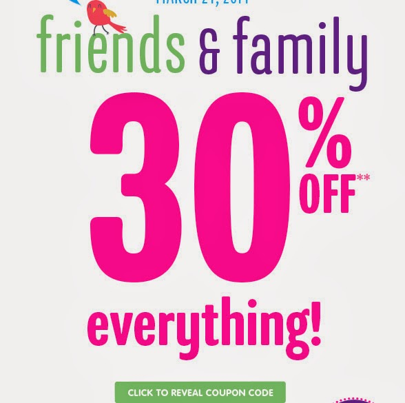 Children's Place Coupons 30% Off