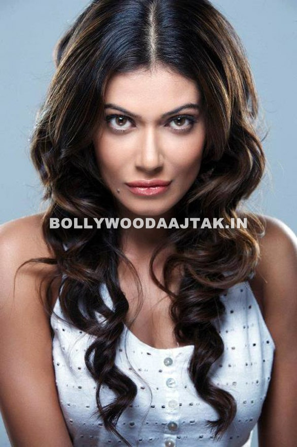 Payal rohatgi white top sexy flowing curly hair -  Payal Rohatgi PHOTOSHOOT HOT PICS