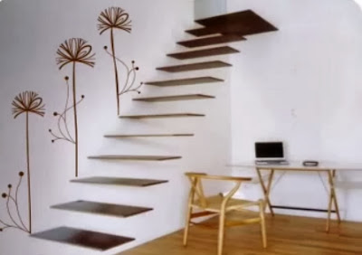 Ideas con vinilos para decorar bajo escaleras - Decoracion bajo escalera ...