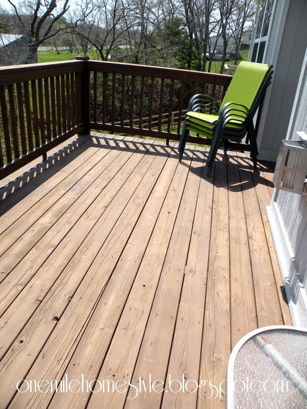 Deck Space - Before