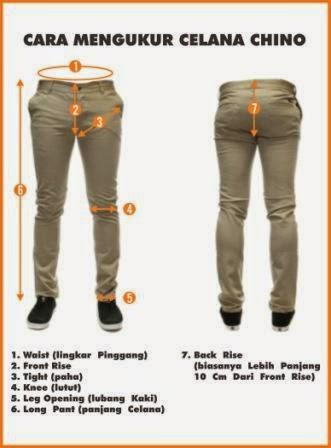 Jual Celana Chino Jogger Custom Bandung Murah