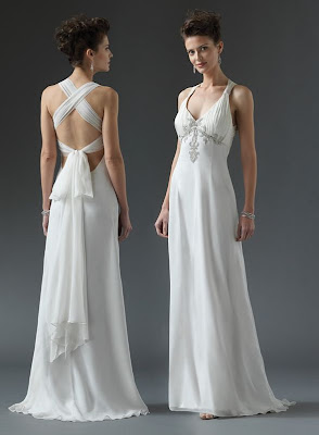 X Back Straps Wedding Dresses