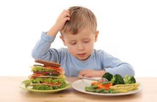 Anak Menyukai Makanan Sehat