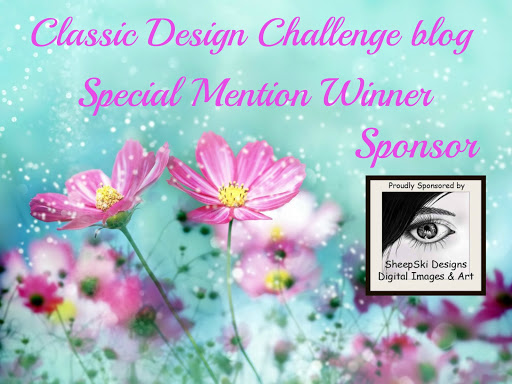 Special Mention Winner at Classic Design Challenge Blog
