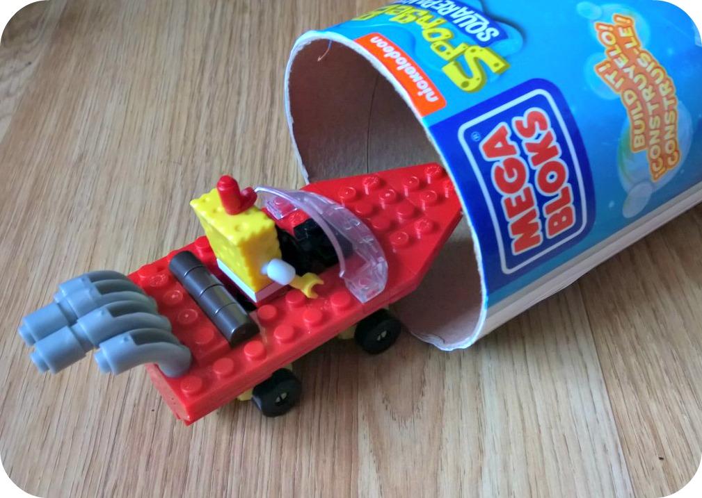 SpongeBob SquarePants Mega Bloks Racer