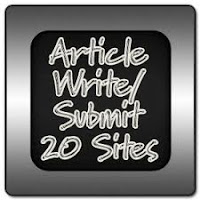 Top 20 Article Submission Sites