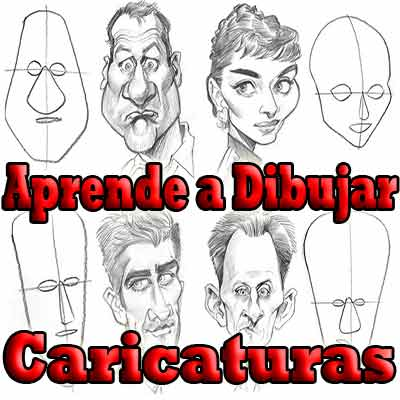 VIDEO CURSO COMO DIBUJAR CARICATURAS ANIME PASO A PASO DVD ...
