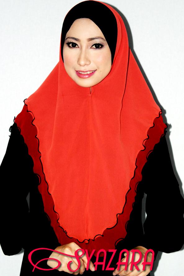 SOLD OUT! Tudung Chiffon Balqis Tiga Layer Saiz XL (8 designs)