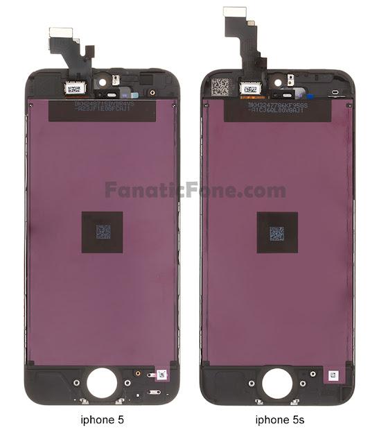 iPhone 5S LCD 零件流出
