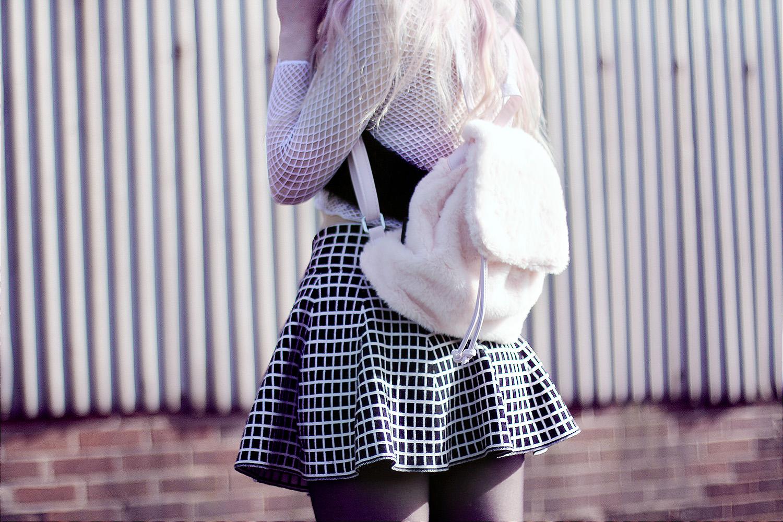 Fluffy Backpack Kayla Hadlington
