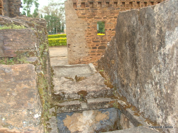 seceret well water storage at kittur palace