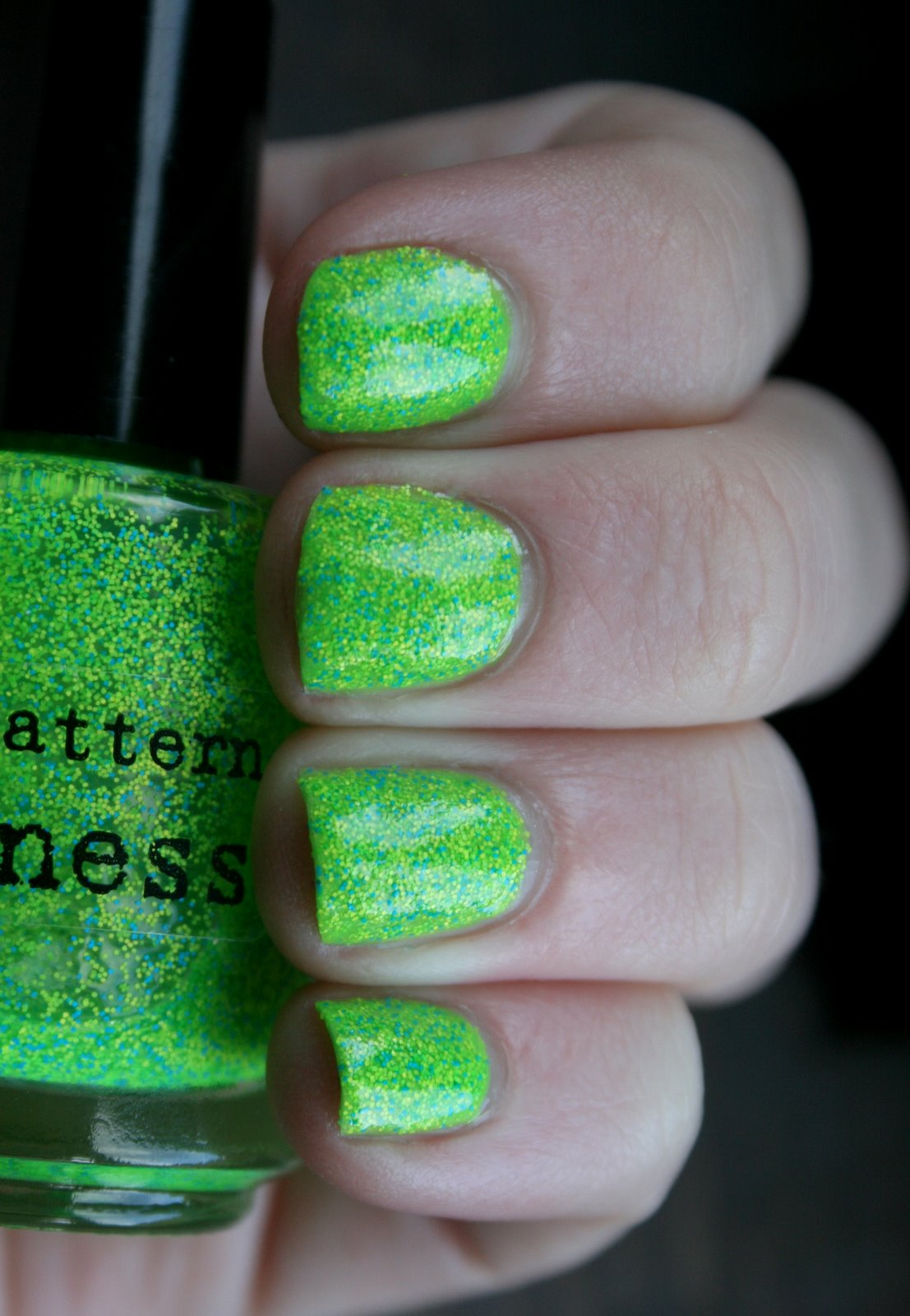 Wet N Wild Nerd Alert: Screech over Nail Pattern Boldness Flipping Out Hard Swatch