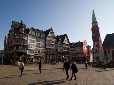 Plaza Romer en Frankfurt