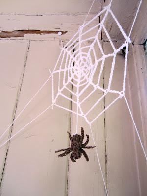 crochet spider crochet spiderweb