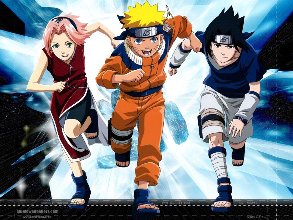 Naruto vf wallpapers team kakashi naruto sasuke sakura - Image naruto sasuke ...