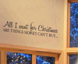 Christmas Quotes Wall Decals