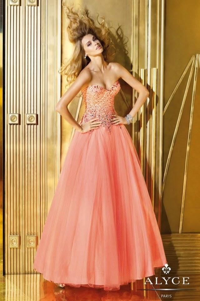 Prom Dress In Orange