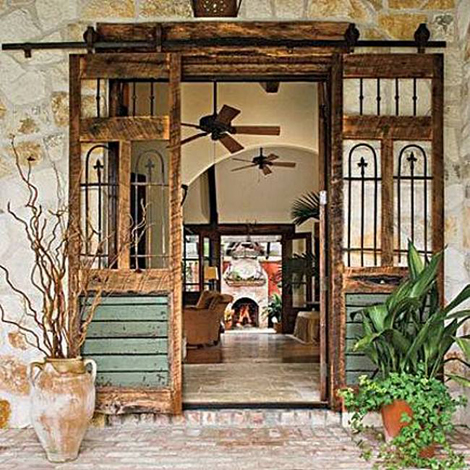 Puertas reconvertidas for Puertas correderas antiguas