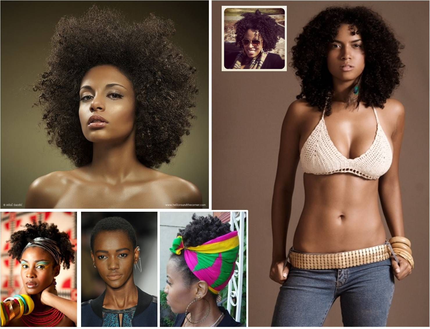 help you wear your afro in style, whether it's short, medium or long title=