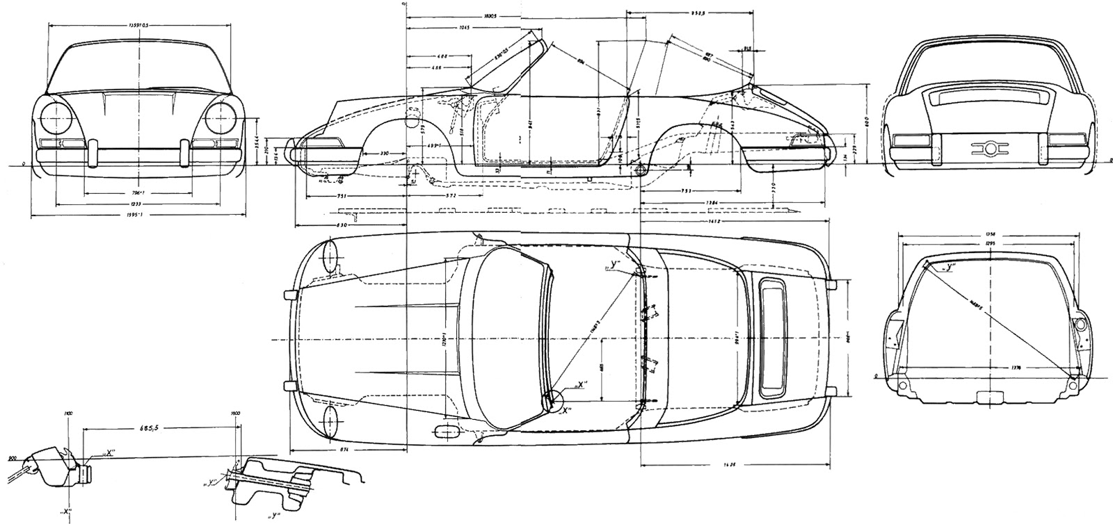 sketchbook historic cars   costruiamo una 911 del 1967